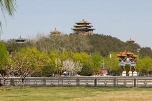 Парк Цзиншань, достопримечательности Пекина