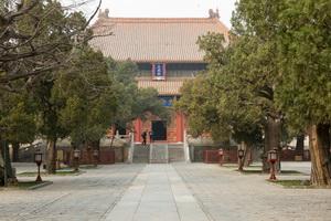 Храм Конфуция и Императорская академия, достопримечательности Пекина