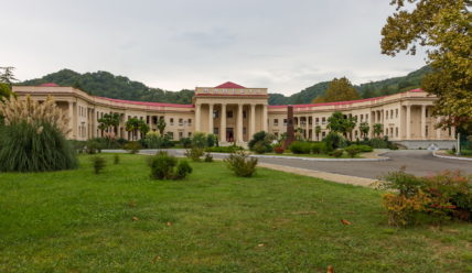 Мацеста: сероводородные источники и бальнеологический курорт