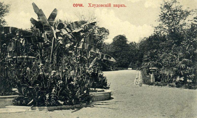 Хлудовский парк, Сочи, парк Ривьера