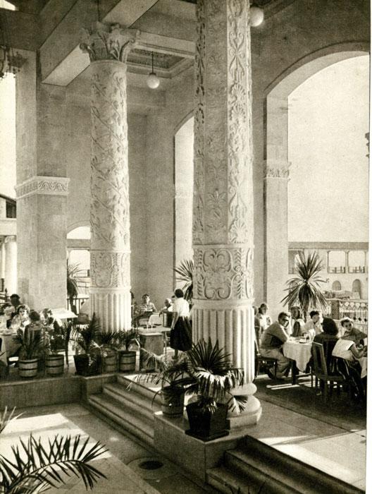 Морской вокзала Сочи, старое фото