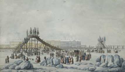 Русские горки: от ледяных и катальных горок к знаменитому аттракциону
