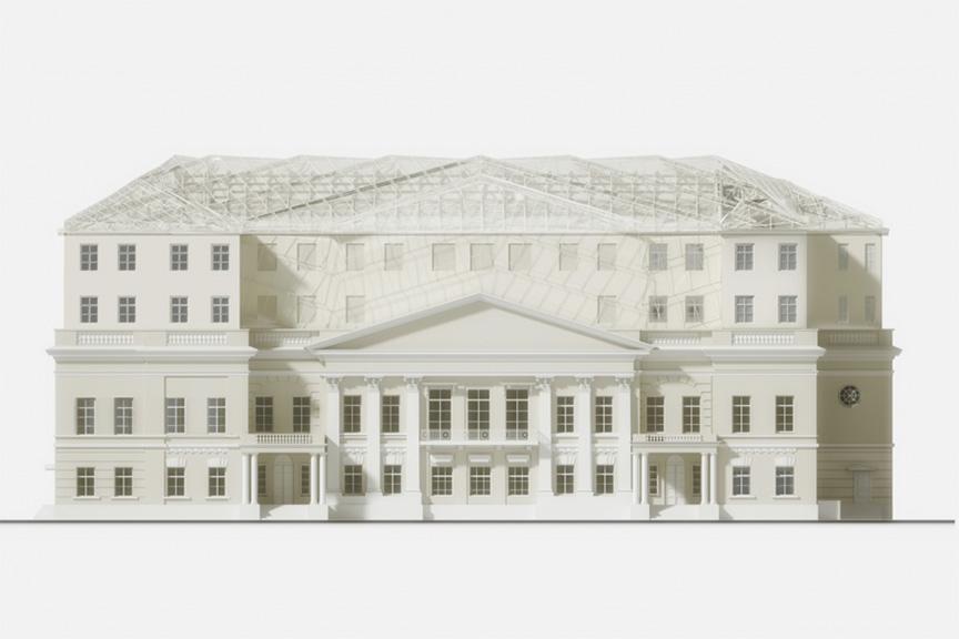 Усадьба Голицыных, Волхонка, проект реконструкции