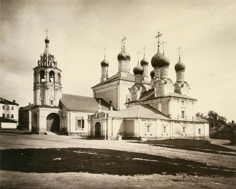 Георгиевский монастырь, Москва