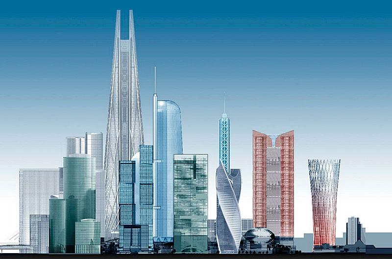 Москва-Сити, проект