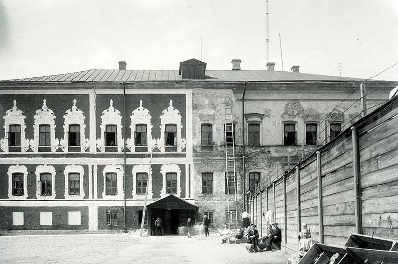 Палаты Троекурова во время реставрации