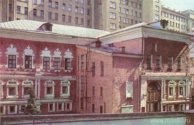 Палаты Троекуровых, Георгиевский переулок