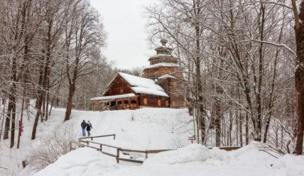 Музей деревянного зодчества «Щелоковский хутор» в Нижнем Новгороде
