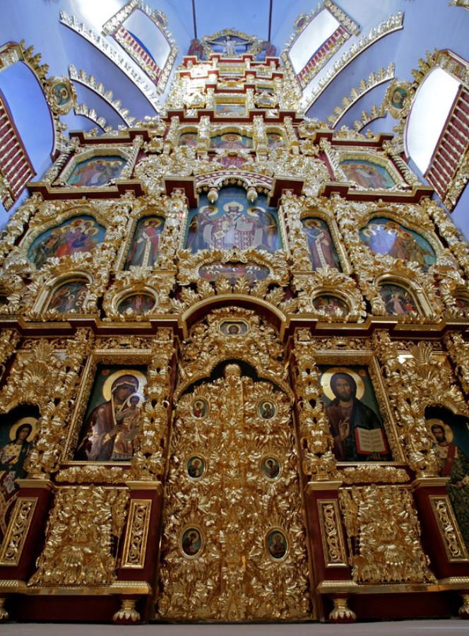 Иконостас Троицкой церкви, Троице-Лыково