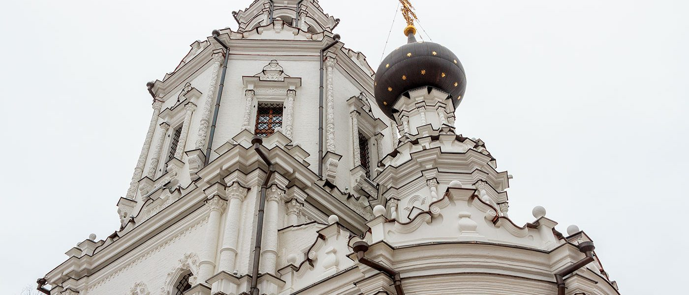 Усадьба Троице-Лыково в Москве и церковь Троицы Живоначальной
