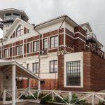 Арт-отель Wardenclyffe Volgo-Balt в Вытегре и панорамы города со смотровой площадки