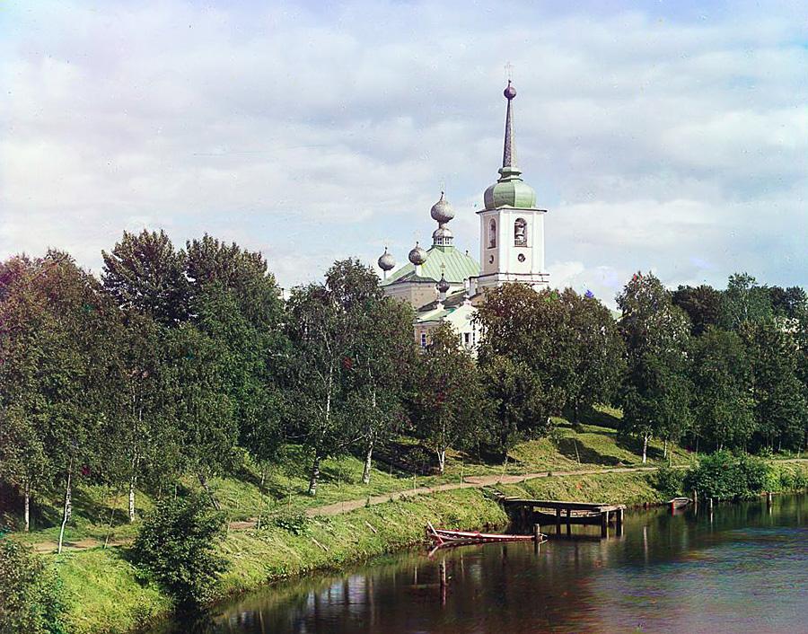 Церковь Вознесения в Вытегре, Прокудин-Горский