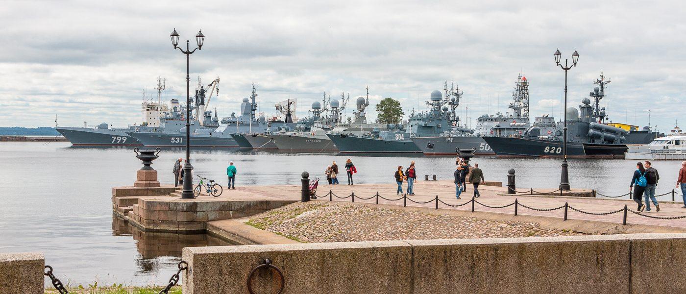 Гавани Кронштадта. Средняя гавань и Петровская пристань
