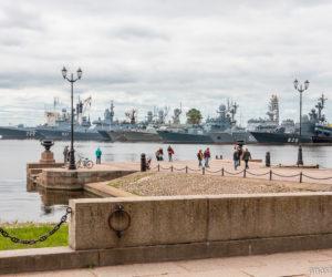 Средняя гавань Кронштадта