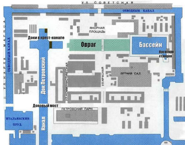 Канал им. Петра Великого с гидротехническими сооружениями