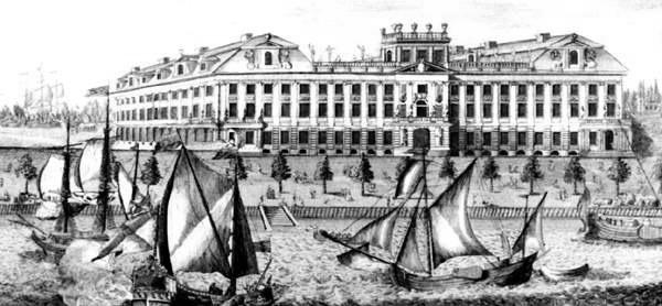 Итальянский дворец в Кронштадте