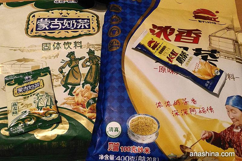 Монгольский молочный чай