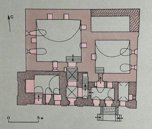 План первого этажа Старого Английского двора
