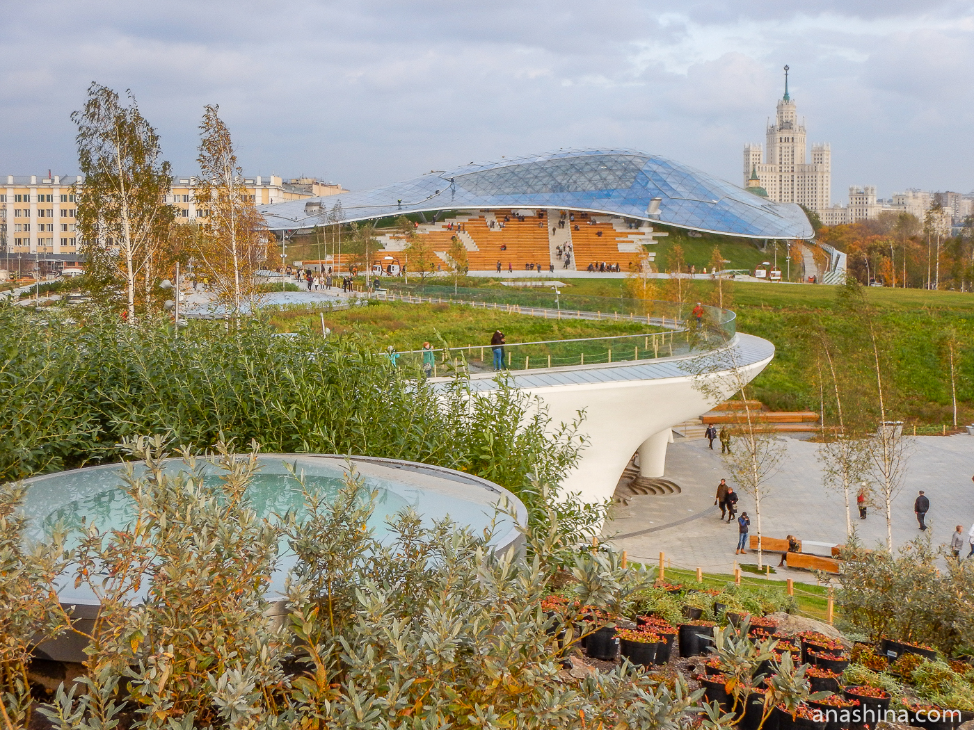 """Парк """"Зарядье"""" в Москве - фото, как добраться, отзывы"""
