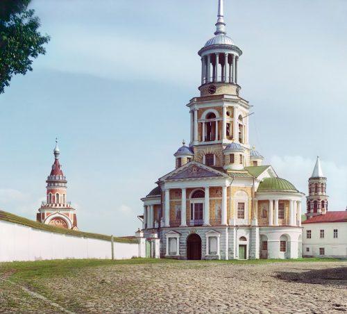 С. М. Прокудин-Горский. Борисоглебский монастырь. [Торжок.] Лето 1910 года