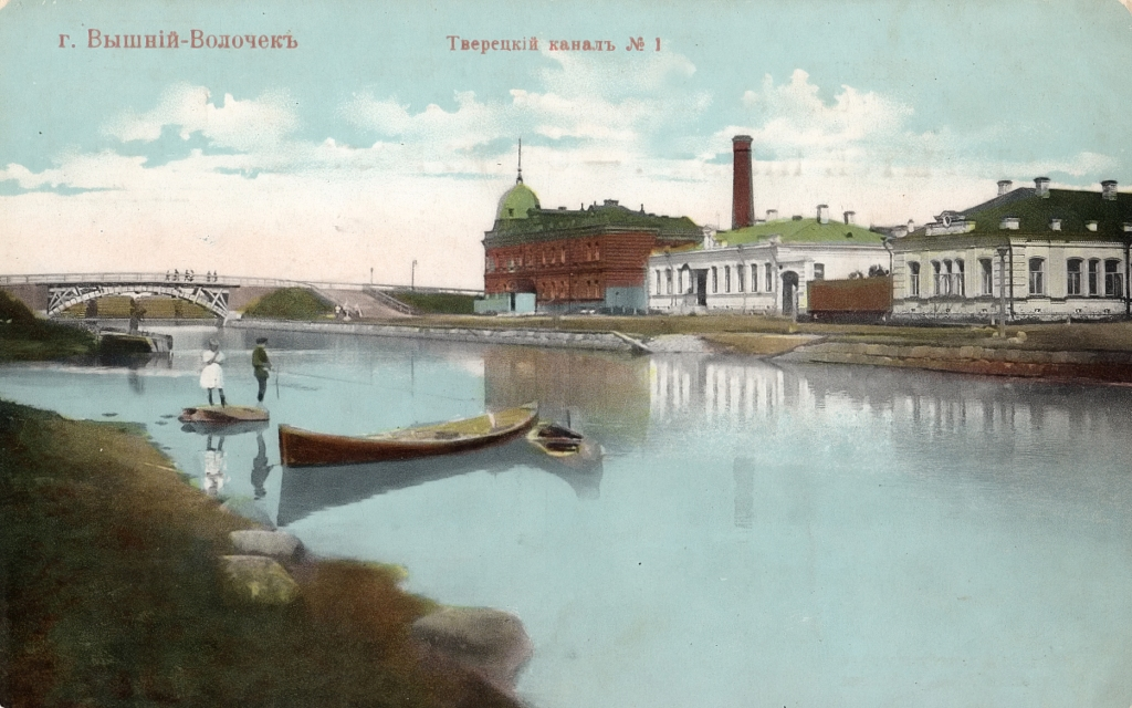 Тверецкий канал, Вышний Волочек