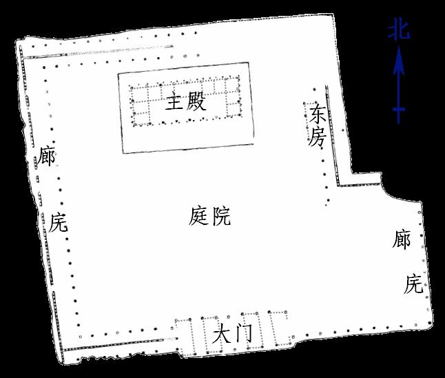 План дворца в Эрлитоу