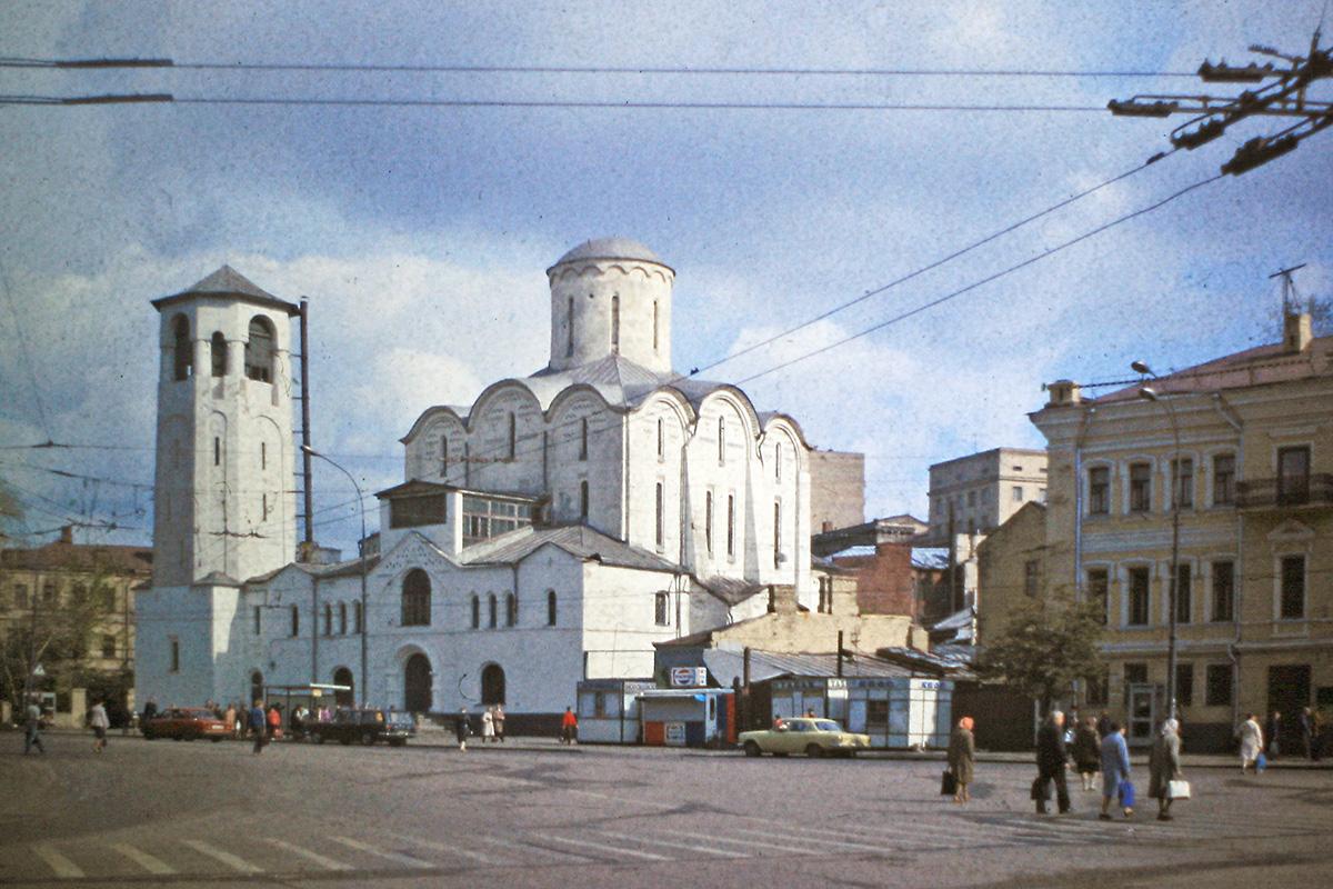 Храм Николы Чудотворца у Тверской заставы, Москва, старое фото