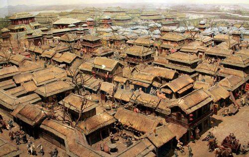 Реконструкция древнего Линьцзы
