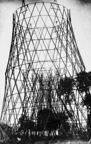 Строительство башни на Шаболовке
