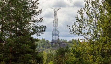 Поездка к Шуховской башне на Оке