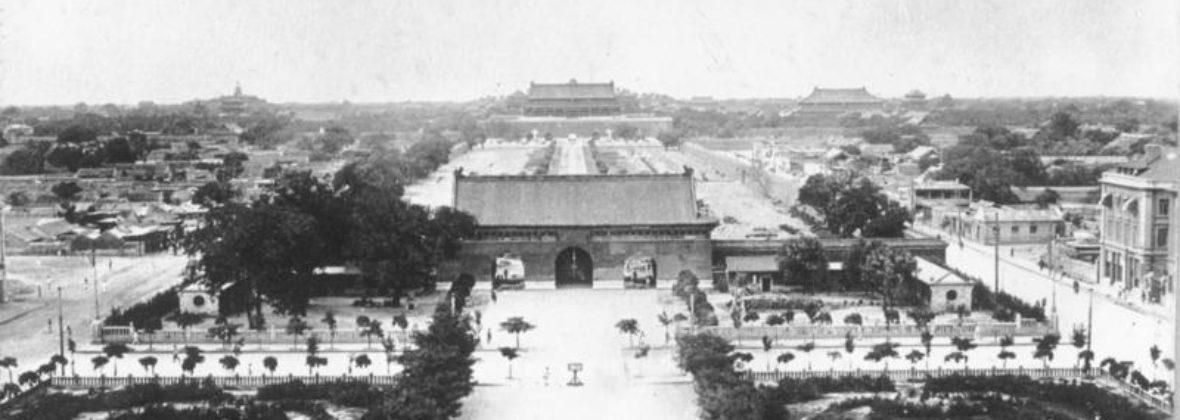История, структура и основные градообразующие сооружения Пекина