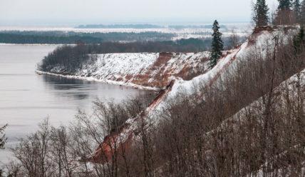Поездка из Вытегры на Онежское озеро и Андома-гору