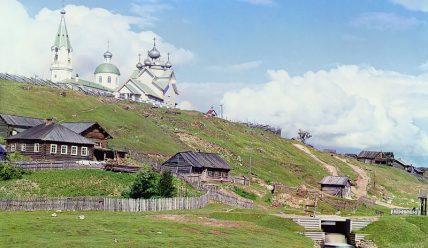 Село Девятины близ Вытегры: Успенская церковь, Девятинский перекоп и другие достопримечательности