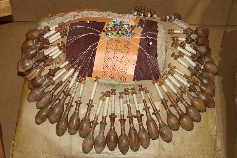 Плетение сложного кружева, музей кружева, вологодское кружево, Вологда