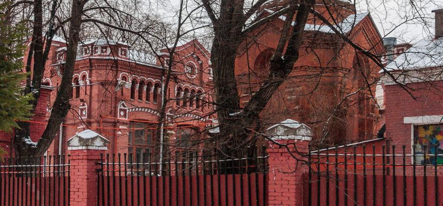 Алексеевская насосная станция в Москве