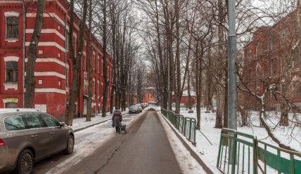 Бывший Бахрушинский приют в селе Алексеевское в Москве