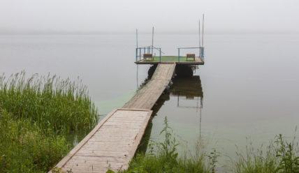 Отдых в бывшем пионерлагере на озере Мстино: отель Экопарк