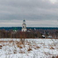 Дорога из Череповца в Рыбинск через Пошехонье