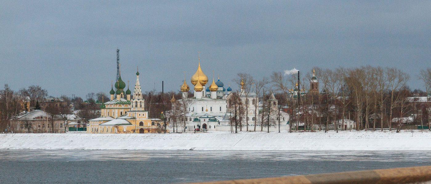 Дорога из Рыбинска в Москву через Углич и Калязин