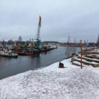 Зимняя поездка в Вытегру