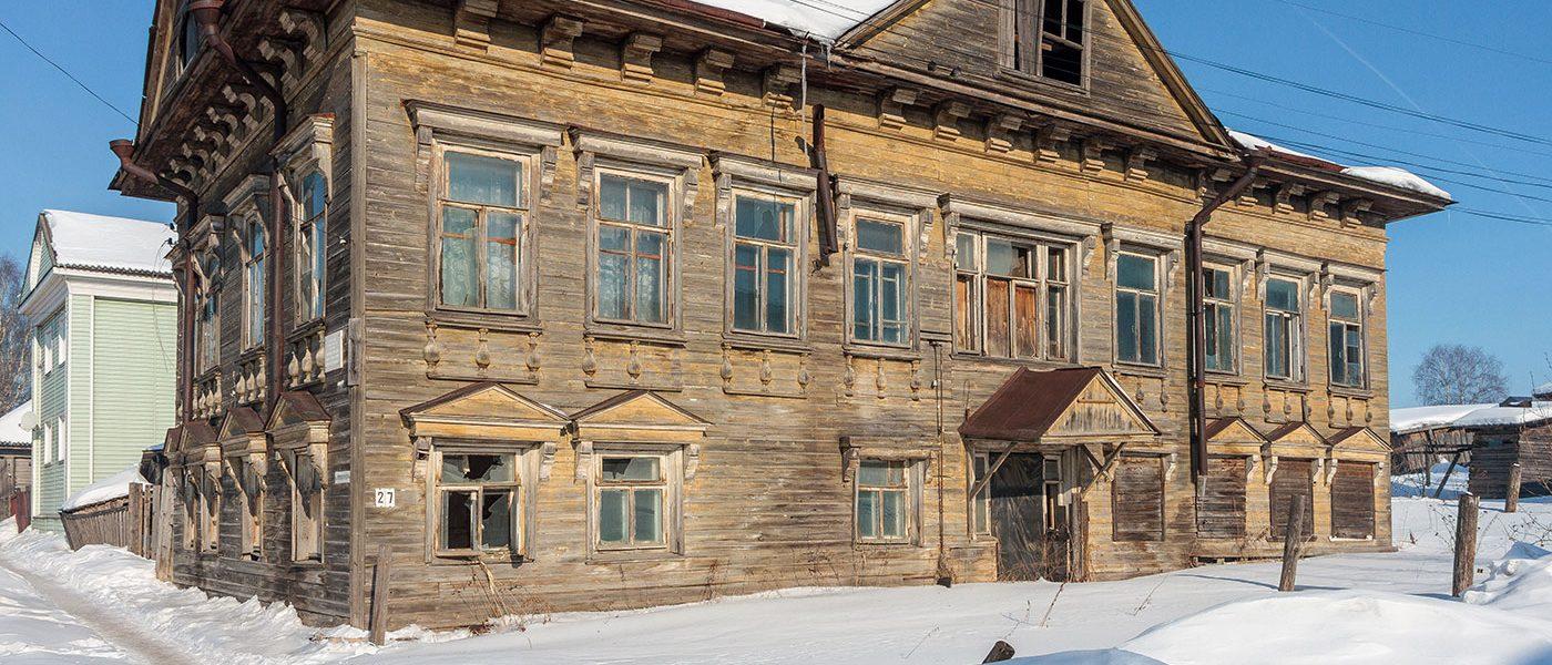 Дом Мичуриных в Солигаличе