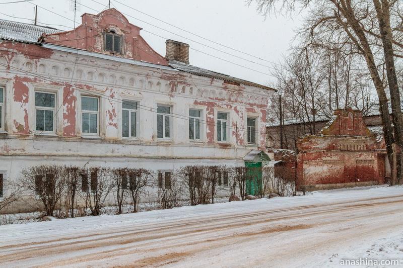 Историческая застройка по улице Карла Маркса, Калязин