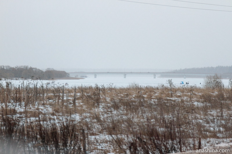 Калязин, Зимний пейзаж