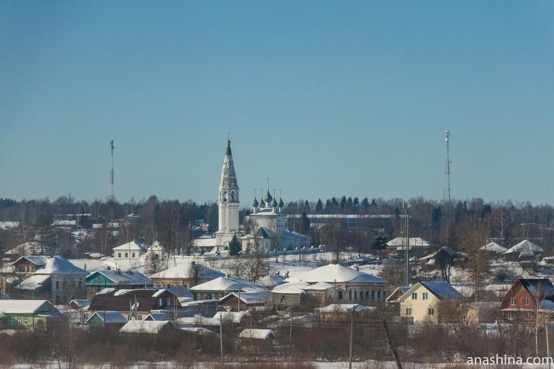Панорама Судиславля