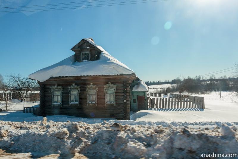 Деревенский дом, Костромская область