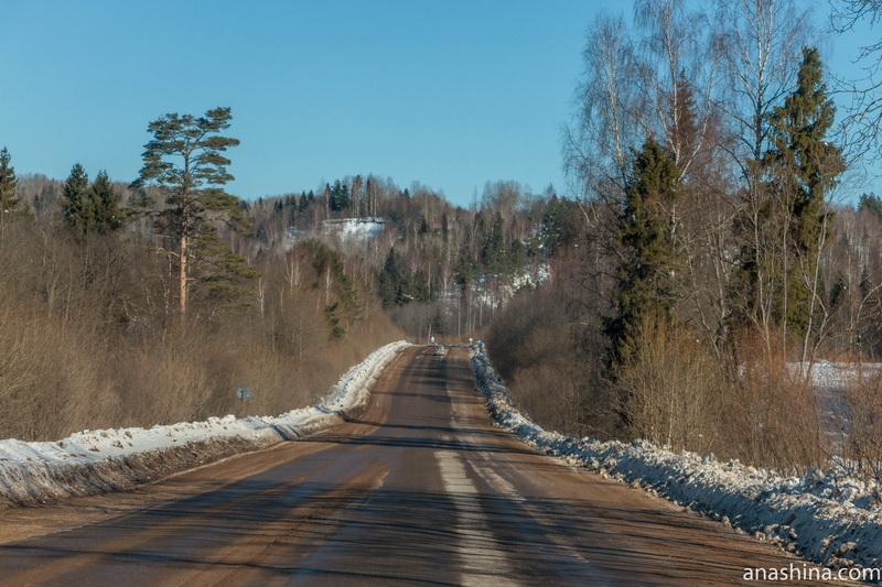 Крутые холмы близ Галича, Костромская область