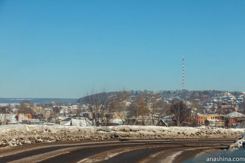 Панорама Галича и горы Балчуг
