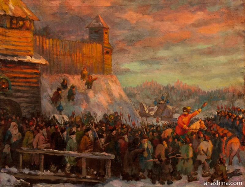 Выступление галичан на борьбу с польскими интервентами в 1609 году