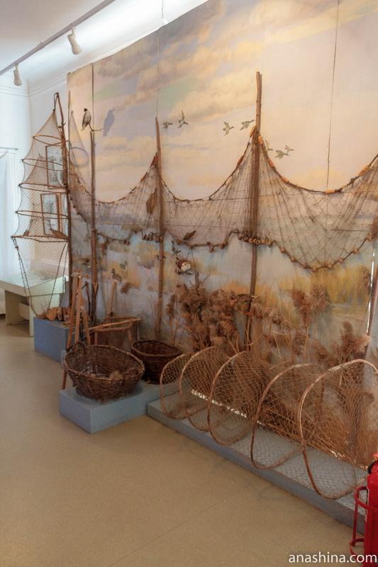 Экспозиция, посвященная рыболовству, Галич