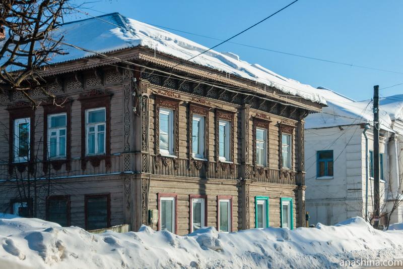 Старинный деревянный дом, Галич